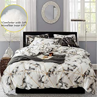 Best white comforter with pattern Reviews