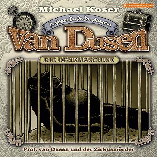 Professor van Dusen und der Zirkusmörder Titelbild