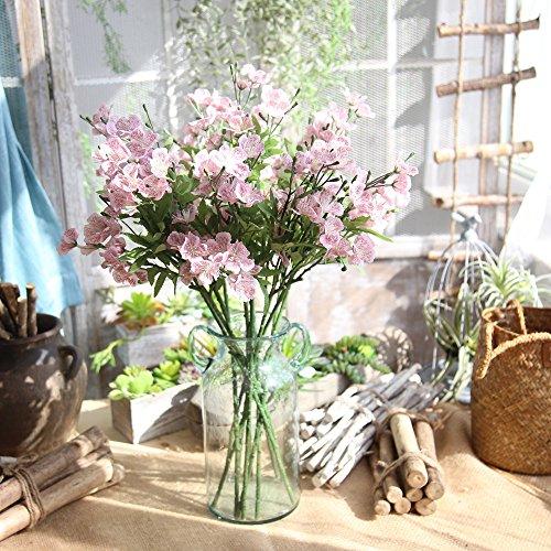 Rifuli-Küche, Haushalt & Wohnen Gef?lschte Blumen Hausgarten Schmetterling Orchidee künstliche Seidenblume Bouquet Phalaenopsis Hochzeit Home Decor