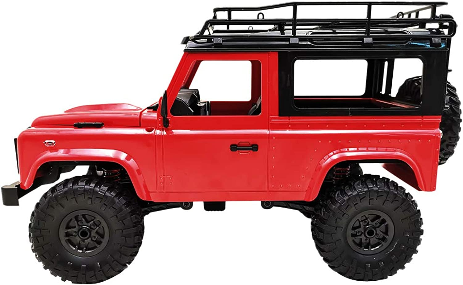 D DOLITY 1 12 Scale Remote Control RC Pickup Truck DIY 4WD Rock Crawler Climbing Truck Car Red