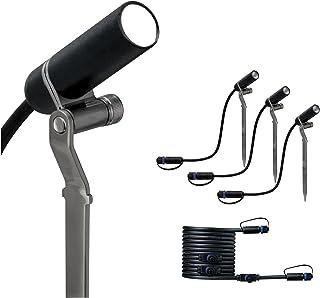 Paulmann 941.56 Outdoor Plug & Shine Spot Plantini zestaw uzupełniający 3000 K 24 V antracyt aluminium 94156 lampa zewnętr...