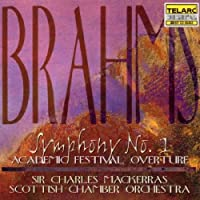 Brahms: Symphony No. 1 in C minor, Op. 68 / Academic Festival Overture, Op. 80 (1997-10-28)