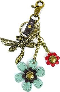 Chala Bronze Color Metal- Purse Charm, Key Fob, keychain decorative accessories