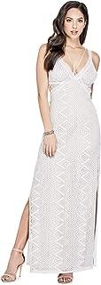 GUESS Women's Sleeveless Gianna Lace Maxi Dress