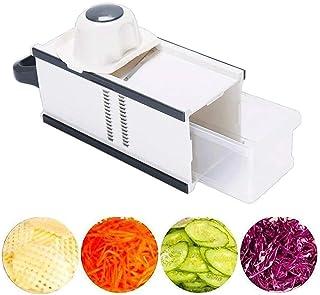 ZHTY Slicer Multi-Fonctionnement Légumes Cutters Slicer Home Cuisine Découper Découper réglable Légumes et Fruits à la Mai...