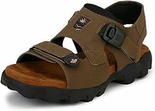 AUSTIN JUSTIN Men's Leather Floater