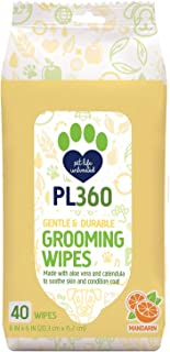 PL360 Dog Grooming Wipes, Mandarin