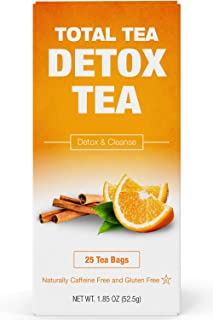 Total Tea Gentle Detox Tea - 25 Herbal Teabags