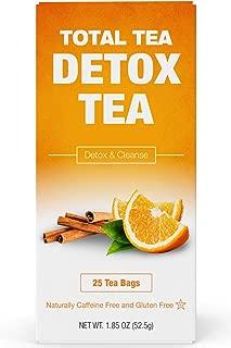 TotalTea Caffeine Free Detox Tea - 25 Herbal Teabags