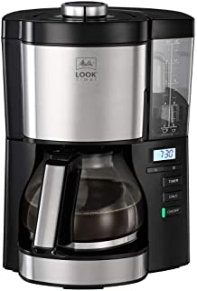 Melitta Look V Timer 1025-08 Filterkoffiezetapparaat met timerfunctie, afneembaar waterreservoir en ontkalkingsprogramma (...