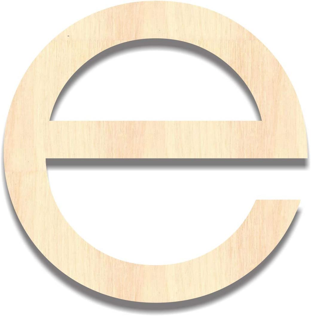 Back40Life - Precision Cut Wood Monogram Lowe San Diego Mall Letter Modern Large special price !! e