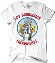 1594-Camiseta Premium, Los Borrachos Hermanos (Legendary P,)