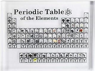 koiry Exhibición de Tabla periódica con Elementos Estudiante Maestro Regalos Manualidades Decoración