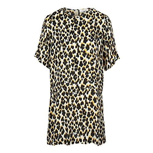 Samsoe & Samsoe Adelaide AOP Damen Kleid 8083 Leopard Jaune M