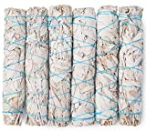 9-Inch White Sage Smudge Sticks ~ Sustainably Harvested ~ for Smudging & Cleansing ~ Instructions Included (6 Pack)