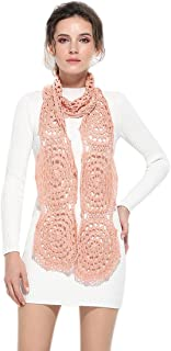 ZORJAR Wraps and Shawls Scarfs for Women Fashion Scarves Handmade Crochet Egyptian Cotton