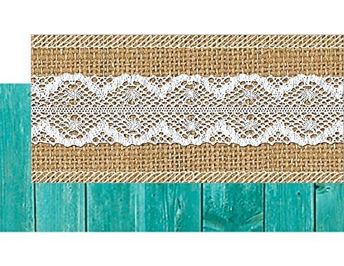 Teacher Created Resources Shabby Chic Double-Sided Border (77169) Photo #5