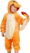 Kids Cartoon Onesies Pajamas Children's Unisex Cosplay Costume Sleepwear Charmander