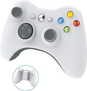 Wireless Controller for Xbox 360, YAEYE 2.4GHZ Gamepad Joystick Wireless Controller for Xbox 360 Console and PC Windows 7,8,10 (White)