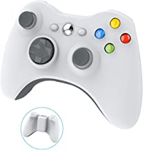 Wireless Controller for Xbox 360, YAEYE 2.4GHZ Gamepad Joystick Wireless Controller for Xbox 360 Console and PC Windows 7,8,10 (White)