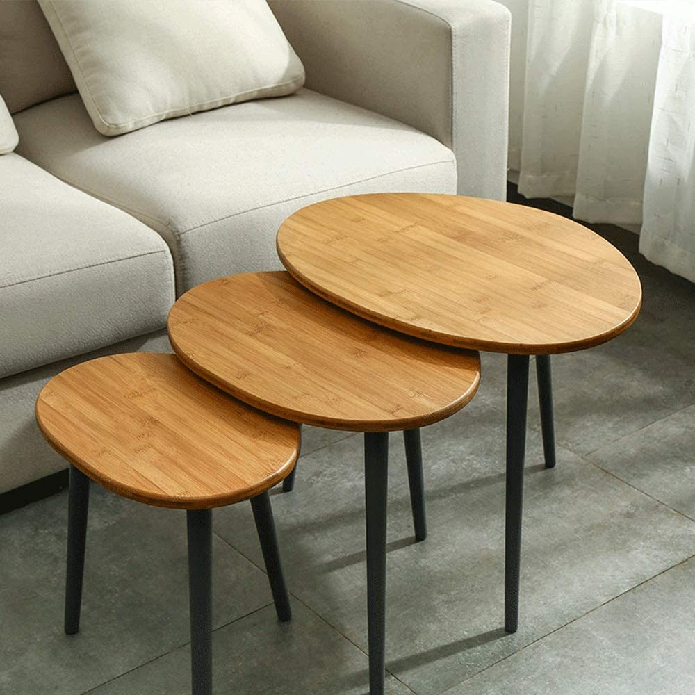 Max 65% OFF Sales results No. 1 Side Table End Nesting Coffee Ta of Sets 3 Tables