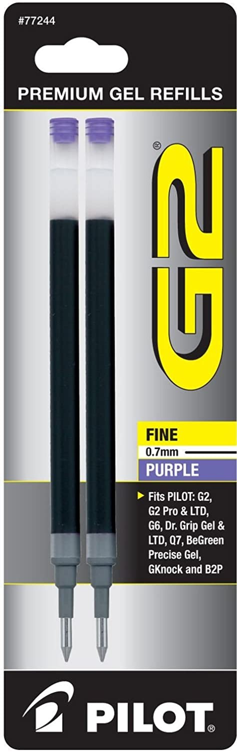 PILOT New York Mall G2 Gel Ink Refills For Point Super beauty product restock quality top Fine Pens Ball Purp Rolling