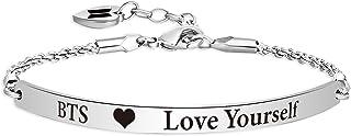دستبند WENATA Kpop BTS Bangtan برای دوست داشتن خودتان