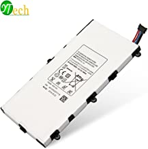 YTech 4000mAh T4000E Replacement Battery for Samsung Galaxy Tablet 3 7.0 SM-T210R T210 T211 T217 T4000E Kids T2105 T2105 P3200 1588-7285 -[3.7V 14.8Wh]
