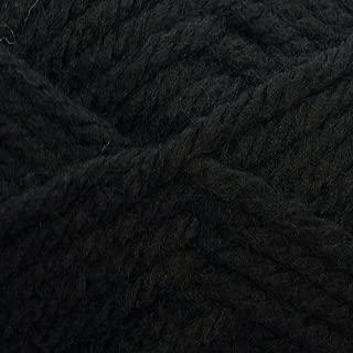 King Cole Big Value Super Chunky Knitting Wool 100g Ball (Black - 8)