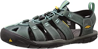 Keen 1014371, womens Clearwater Cnx Leather-w, Mineral Blue/Yellow, 5 UK (7.5 US)