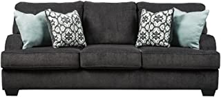 Benchcraft - Charenton Contemporary Sofa Sleeper - Queen Size Mattress Included - Charcoal