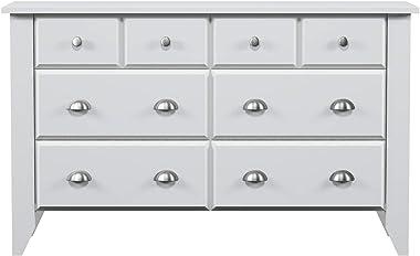 Sauder Shoal Creek Dresser, Soft White finish