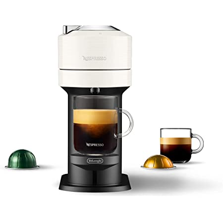 Nespresso Vertuo Next Coffee and Espresso Machine by DeLonghi, White