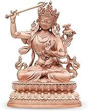 PPCP Manjusri Buddha Statue Feng Shui Statue Crafts Decoration Home Office Decoration 7×5×10cm