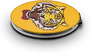 Makeup Mirror Yuri Plisetsky Tiger 1x/7x Magnification Folding Compact Pocket Mirror For Beauty, Cosmetic And Travel