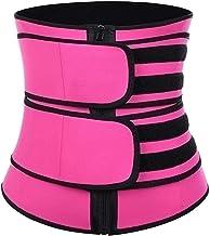 Dames Zandloper Taille Trainer Trimmer Riem voor Gewichtsverlies Body Shaper Belly Fat Burner Hot Neopreen Sauna Sweat Band