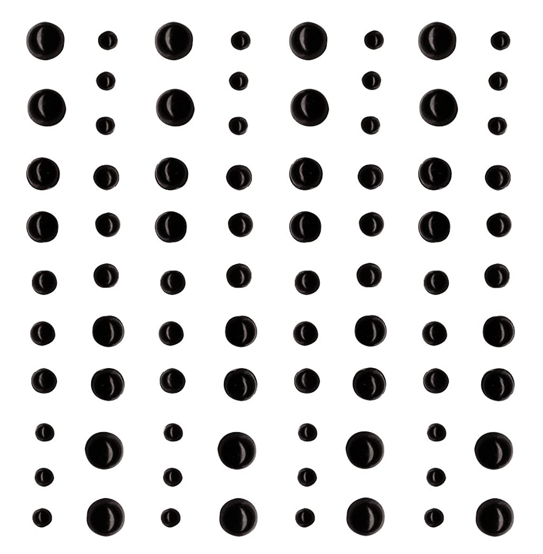 Artemio 80 Black Adhesive Beads