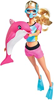 Simba 105733201 – Steffi Love Dolphin FUN, muñeca , color