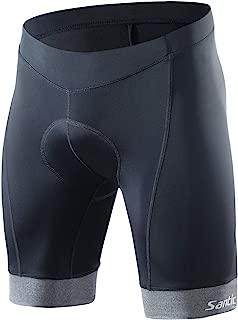 Santic Men's Cycling Shorts 4D Padded Biking Shorts Breathable Bicycle Wear