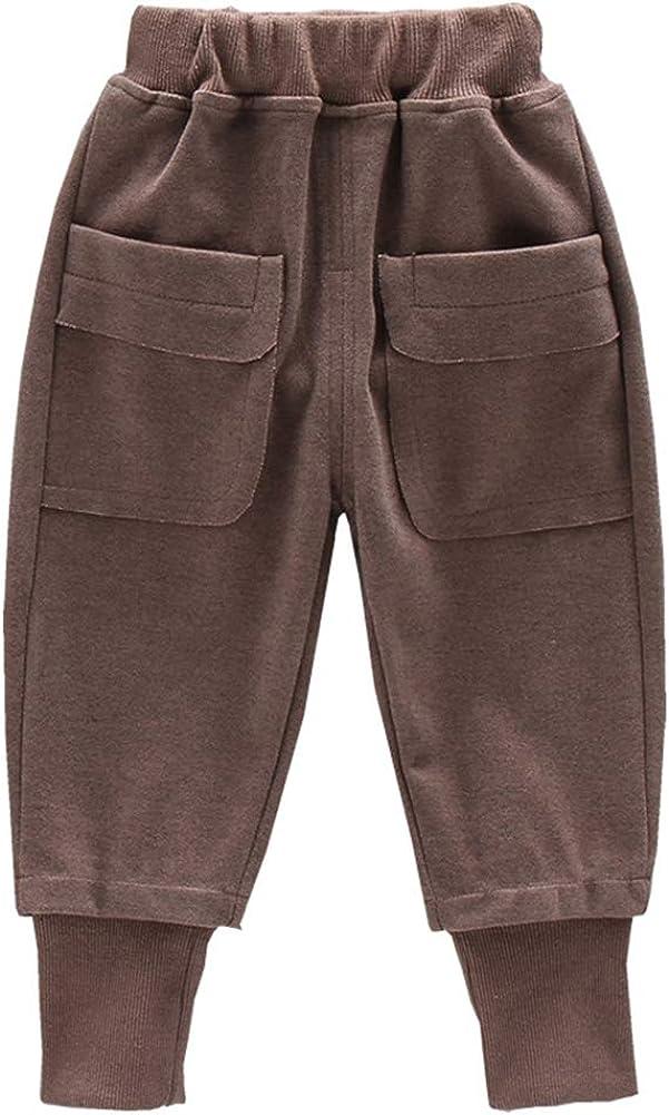 Toddler Cotton Elastic Ranking TOP18 Waist Trousers List price Sweatpants Bottoms Jogger