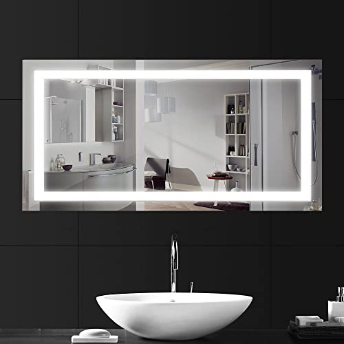Swell Bathroom Led Mirror Amazon Co Uk Download Free Architecture Designs Sospemadebymaigaardcom