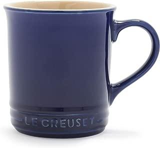 Le Creuset of America PG9003-0078 12 oz. Stoneware Mug, 14 oz, Indigo