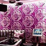 JSDJZSH 3D réfléchissant Flash métal Texture Fond d'écran karaoké Mur Tissu Music Hall Mur Saxophone café Mur Papier Bar