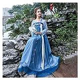 YUNGYE Hanfu - Falda de pecho completo para mujer, estilo chino, estilo antiguo, estilo tradicional, primavera (color, tamaño: S)