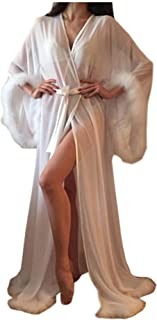 Best glamour robe with fur Reviews