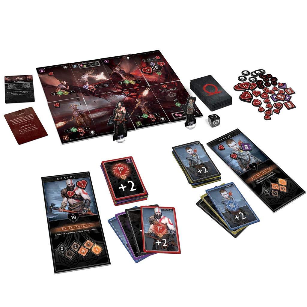 Edge Entertainment- God of W- Juego de Mesa - Español, Multicolor, Talla Única (EECMGW01): Amazon.es: Juguetes y juegos
