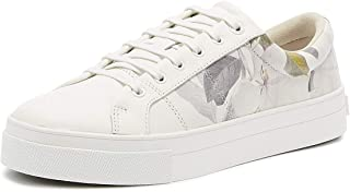 Ted Baker Ephielp Womens White Opal Leather Trainers