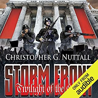 Storm Front     Twilight of the Gods, Book 1              By:                                                                                                                                 Christopher G. Nuttall                               Narrated by:                                                                                                                                 Corey Gagne                      Length: 13 hrs and 42 mins     168 ratings     Overall 4.1