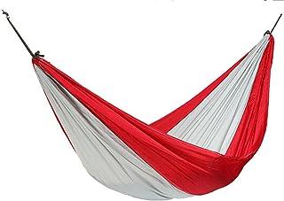 Hamac Extérieur Léger Voyage D'agrément Camping Swing 275*140 C