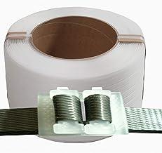 Globaldream 2 St/ück Glasfaserverst/ärktes Filament-Umreifungsband Hochleistungs-Glasfaser-Verpackungsband f/ür Umzugskartons Versand B/üro
